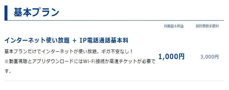トーンモバイルの基本プランではIP電話番号しか使えないのでLINEのSMS認証がクリアできない