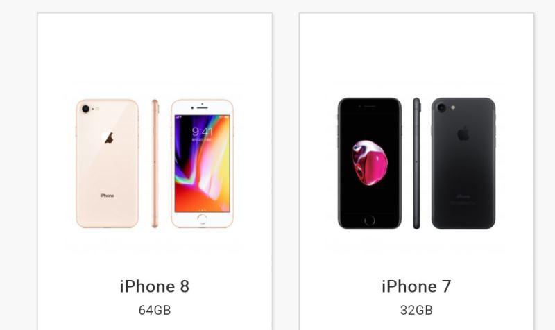 ドコモの25歳以下限定割引の対象機種はiPhone7(32GB)とiPhone8(64GB)