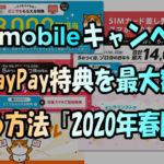 複雑なワイモバイルのキャンペーンPayPay特典を最大額貰う方法『2020年春版』