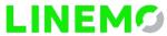 LINEMOのロゴ-透過_150